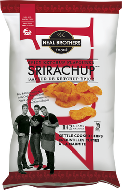 Neal Brothers Srirachup Kettle Chips