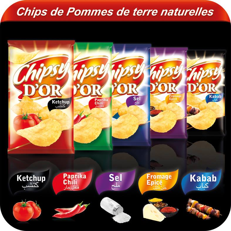 Chipsy D'Or Fromage Epice Flavour Chips Review
