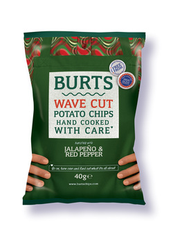 Burts Chips Jalapeno & Red Pepper Crisps Review