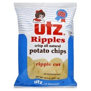 Utz Ripple Cut Regular Original Potato Chips
