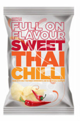 Marks & Spencer M&S Potato Crisps Full On Flavour Sweet Thai Chilli