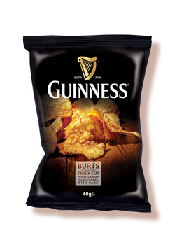 Burts Chips Guinness Crisps Review