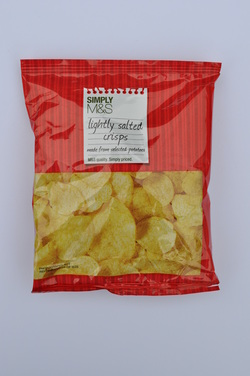 Marks & Spencer M&S Potato Crisps Simply Salted