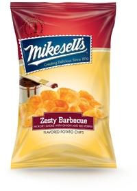 Mikesells's Zesty Barbecue Potato Chips