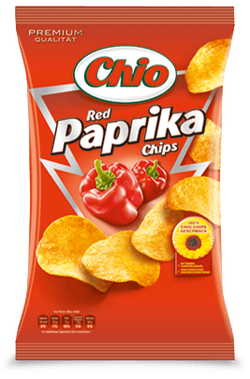 Chio Potato Chips Kartoffel Chips Extra Crunchy Sweet Red Paprika