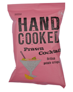 Marks & Spencer Potato Crisps Hand Cooked Prawn Cocktail