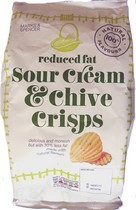 Marks & Spencer Reduced Fat Sour Cream & Chive Crisps Review