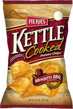 Herr's Mesquite BBQ Kettle Cooked Potato Chips