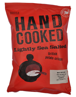 Marks & Spencer M&S Potato Crisps Hand Cooked Lightly Sea Salted