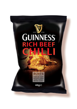 Burts Chips Guinness Rich Beef Chilli Crisps Review