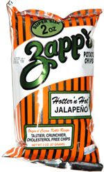 Zapp's Hotter 'n Hot Jalapeno Kettle Cooked Potato Chips