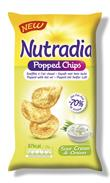 Nutradia Popped Chips Sour Cream & Onion