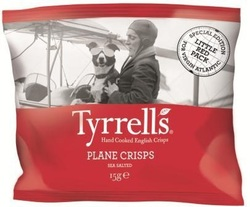 Tyrrell's Plane Crisps Review