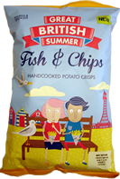 Marks & Spencer M&S Potato Crisps Great British Summer Fish & Chips