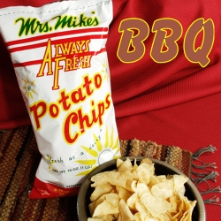 Mrs Mike's Barbeque Potato Chips