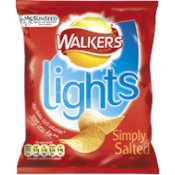 Walkers Lights Simply Salted
