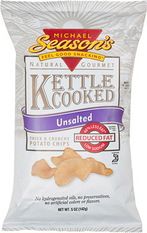Michael Season's Unsalted Kettle Cooked Potato Chips