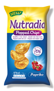 Nutradia Popped Chips Paprika