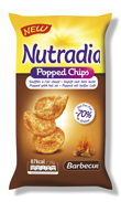 Nutradia Popped Chips Barbecue