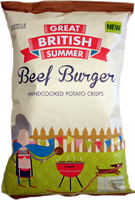 Marks & Spencer M&S Potato Crisps Great British Summer Beef Burger