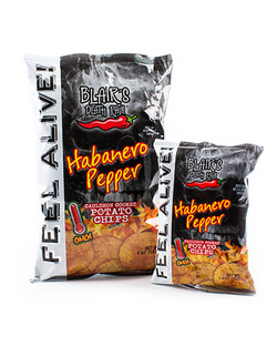 Blair's Death Rain Habanero Pepper Kettle Cooked Potato Chips