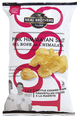 Neal Brothers Pink Himalayan Salt Kettle Chips