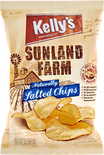Kelly's Potato Chips Sunland Farm Naturally Salted Chips