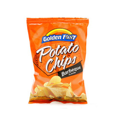 Golden Fluff Barbeque Potato Chips