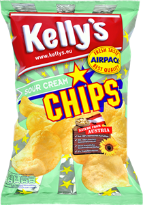 Kelly's Potato Chips Sour Cream