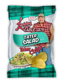 Larry The Cable Guy Tater Chips Tater Salad