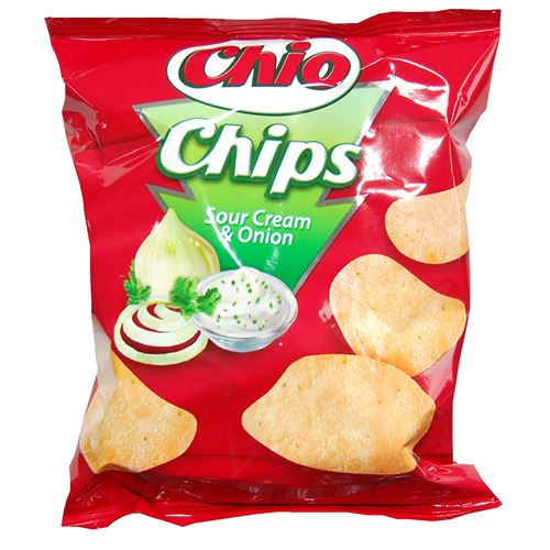 Chio Sour Cream and Onion Chips Review