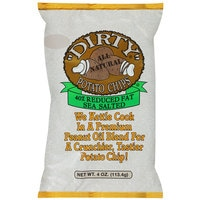 Dirty Potato Chips 40% Reduced Fat Sea Salted