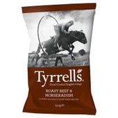 Tyrrell's Roast Beef & Horseradish Crisps Review
