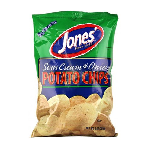 jones 39 wavy sour cream onion potato chips. Black Bedroom Furniture Sets. Home Design Ideas