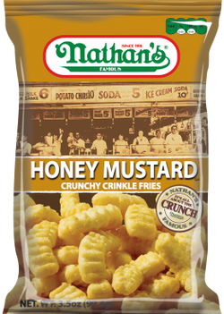 Nathan's Famous Honey Mustard Chips