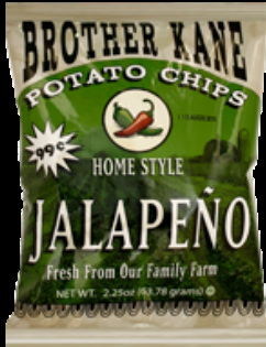 Brother Kane Jalapeno Home Style Potato Chips