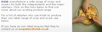 Kolak Crisps Private Label