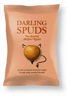 Darling Spuds Potato Crisps Fire Roasted Jalapeno Peppers Review