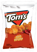 Tom's Hot Stuff Potato Chips