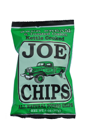Joe Tea Joe Chips Sour Cream & Toasted Onion Kettle Chips