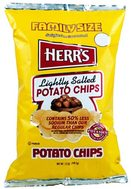 Herr's Lightly Salted Potato Chips