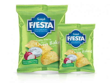 Notions Group Fiesta Crisps Sour Cream & Onion Potato Snacks