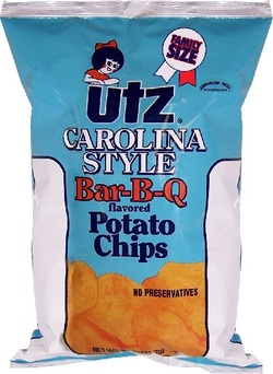 Utz Carolina BBQ Potato Chips