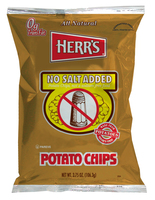Herr's No Salt Added Potato Chips