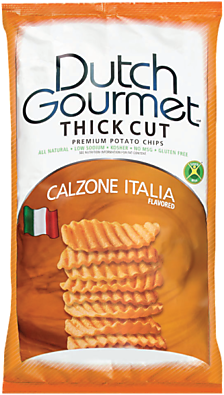 Old Dutch Gourmet Calzone Italia Thick Cut Premium Potato Chips