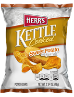 Herr's Kettle Cooked Sweet Potato Chips