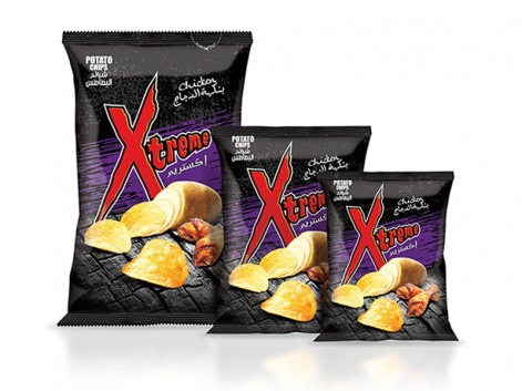 Notions Group XL Xtreme Chicken Potato Chips Salted