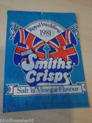 Vintage Potato Chips bag Smiths Crisps 1981 Charles & Diana Wedding