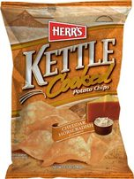 Herr's Cheddar Horseradish Kettle Cooked Potato Chips