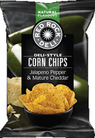 Red Rock Deli Jalapeno Pepper & Mature Chedder Corn Chips Review